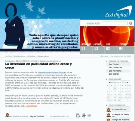 Blog Zed Digital