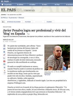 Javier Penalva en El País